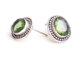 View our  Green Stone Earrings from the  Jewellery Gifts collection