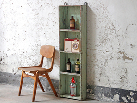 View our  White Book Case from the  Vintage Shelving collection