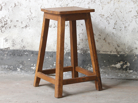 Old Wooden Stool Thumbnail