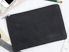View our  Large Black Pencil Case from the  Stocking Fillers  collection
