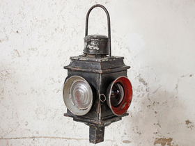 View our  Vintage Railway Lantern - Extra Large from the  Lanterns collection