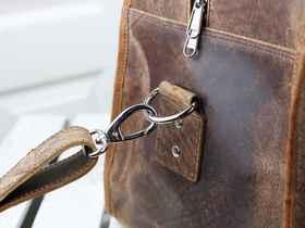 Large Vintage Leather Travel Holdall Bag Thumbnail