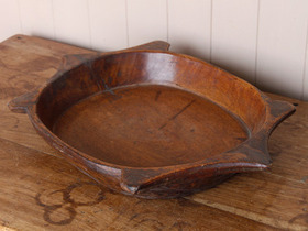 View our  Large Old Wooden Bowl from the  Vintage Wooden Bowls collection