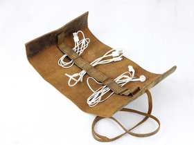 View our  Leather Cord Organiser from the  Accessories collection