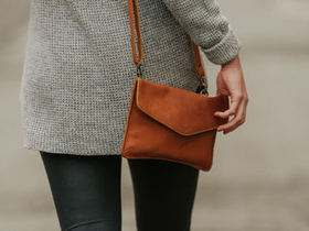 View our  Leather Envelope Clutch Bag from the  Leather Bags & Satchels collection