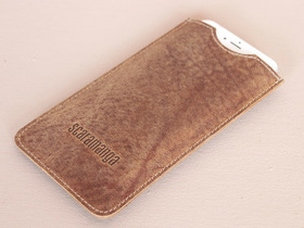 View our  Leather Iphone 6 and 6 Plus Sleeve from the  Stocking Fillers  collection