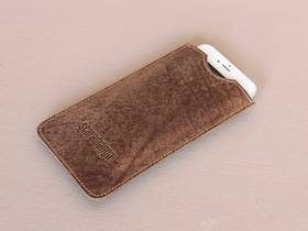 Leather Smartphone Sleeve Thumbnail