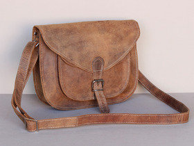 View our Junior Boys And Girls Leather Saddle Bag 12 Inch from the Junior Handbags collection