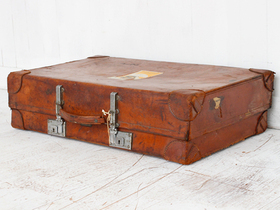 View our  Leather Suitcase from the  Sold collection