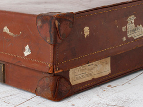 Leather Suitcase  Thumbnail
