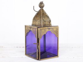 View our  Medium Purple Glass Lantern from the  Lanterns collection