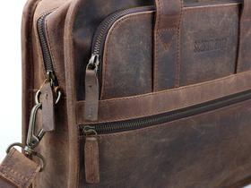 Men's Citylander Leather Laptop Bag Thumbnail