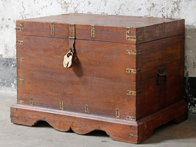 View our  Blanket Chest from the  Old Wooden Chests, Trunks & Boxes collection
