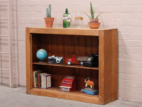 View our  Oak School Bookcase from the  Vintage Shelving collection