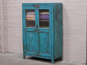 Old Blue Armoire Thumbnail