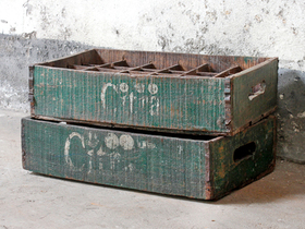 View our  Old Citra Bottle Crate from the  Old Wooden Chests, Trunks & Boxes collection