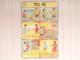 View our  Old Indian School Poster from the  Vintage Postcards & Posters collection
