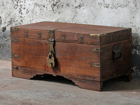 View our  Old Storage Chest from the  Old Wooden Chests, Trunks & Boxes collection
