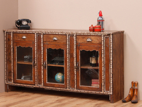 View our  Antique Colonial Teak Sideboard  from the  Vintage Cabinets & Cupboards collection