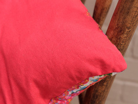 Red Floral Cushion Cover Thumbnail