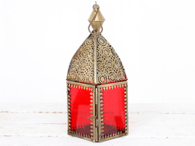View our  Red Glass Lantern from the  Lanterns collection