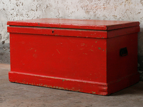 View our  Red Chest  from the  Old Wooden Chests, Trunks & Boxes collection