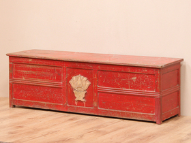 View our  Wood Storage Chest from the  Old Wooden Chests, Trunks & Boxes collection