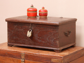 View our  Rosewood Chest from the  Old Wooden Chests, Trunks & Boxes collection
