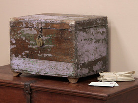 View our  Old Wooden Money Chest  from the  Old Wooden Chests, Trunks & Boxes collection