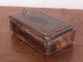 View our  Old Rustic Spice Box from the  Vintage Wooden Pots collection