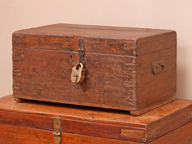 View our  Vintage Stationery Chest from the  Old Wooden Chests, Trunks & Boxes collection