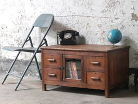 View our  Wooden Storage Chest from the  Vintage Tables & Desks collection