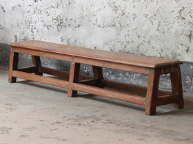 View our  Vintage Bench from the  Old Chairs, Stools & Benches collection