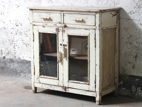 View our  White Storage Cabinet from the  Vintage Cabinets & Cupboards collection