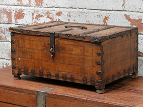 View our  Shekhawati Chest from the  Old Wooden Chests, Trunks & Boxes collection