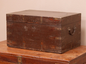 View our  Merchant's Stationery Chest from the  Old Wooden Chests, Trunks & Boxes collection