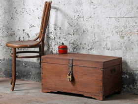 View our  Antique Blanket Box from the  Old Wooden Chests, Trunks & Boxes collection