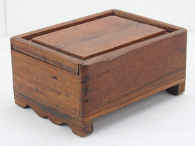 View our  Wooden Box from the  Old Wooden Chests, Trunks & Boxes collection
