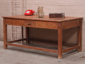 View our  Teak Display Table from the  Vintage Tables & Desks collection