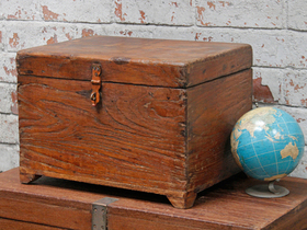 View our  Wooden Storage Chest from the  New In collection