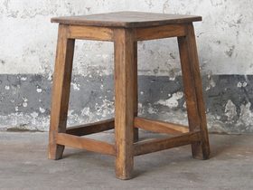 View our  Wooden Stool from the  Old Chairs, Stools & Benches collection