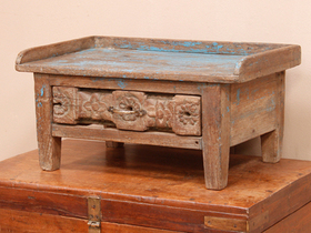 Old Teak Table Cabinet Thumbnail