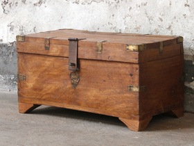 View our  Wooden Chest from the  Sold collection