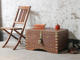 View our  Wedding Chest from the  Old Wooden Chests, Trunks & Boxes collection