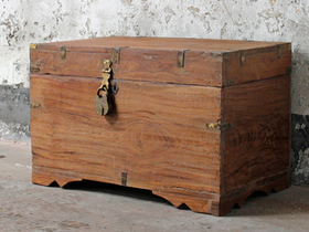 View our  Antique Blanket Chest from the  Old Wooden Chests, Trunks & Boxes collection