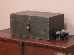 View our  Traditional Stationery Chest from the  Old Wooden Chests, Trunks & Boxes collection