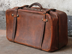 View our  Vintage Travel Bag from the  For The Home collection