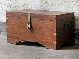 View our  Wooden Trunk from the  Old Wooden Chests, Trunks & Boxes collection