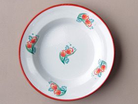 View our  Tulip Enamel Bowl from the  Soft Furnishings collection