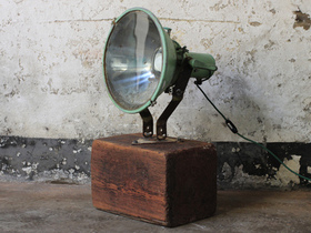 Upcycled Vintage Ship's Spotlight Thumbnail